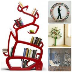 La libreria per arredare casa in maniera originale for Arredamento originale casa