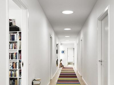 Illuminazione Ingresso Casa : Ottenere più luce in casa con qualche piccolo trucchetto